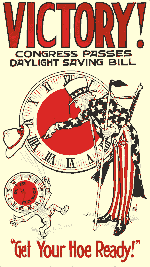 Daylight Saving Time - poster