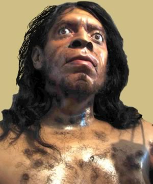 Prehistory - Model of a Neanderthal