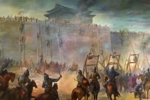 Chinese History:  Battles were common during the Age of Warring States