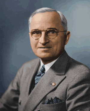 Hiroshima and Nagasaki - President Harry Truman