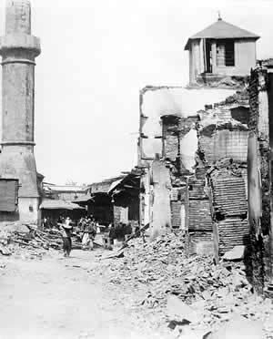 A massacre of Armenian Christians in the city of Adana  in 1909 resulted in the deaths of as many as 20,000–30,000 Armenians.