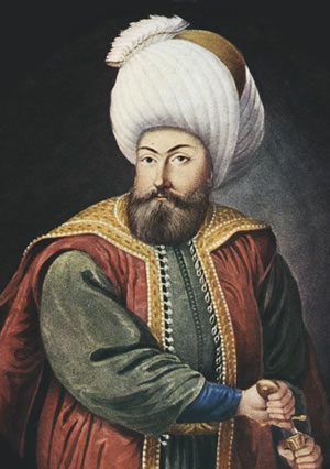 Osman I (1258 – 1326) was the leader of the Ottoman Turks and the founder of the dynasty that established and ruled the Ottoman Empire.