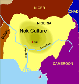 Map of Ancient Nok