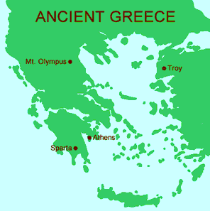 Ancient greece the cradle of western civilization mrdowling map of ancient greece gumiabroncs Images