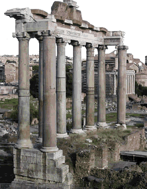 Patricians and plebeians: The remains of the Roman Forum