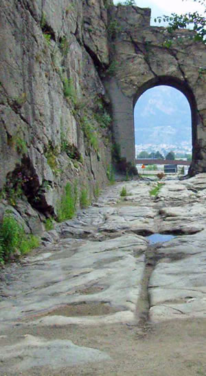 Many Roman roads are still passable more than two thousand years after their construction.