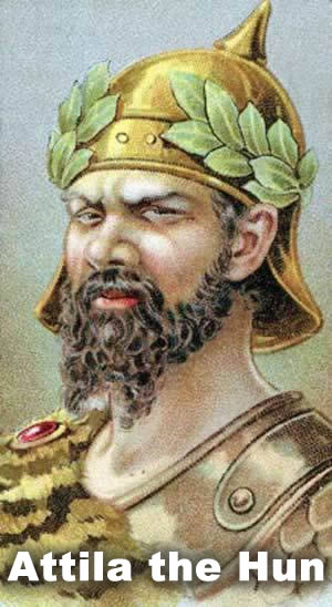 an introduction to the history of attila the hun Attila and the huns hun encounters with the with an image of attila the hun with one of the most significant events in world history.