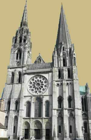 The Middle Ages - Cathedral of Our Lady of Chartres