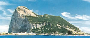 The moors - The Rock of Gibraltar