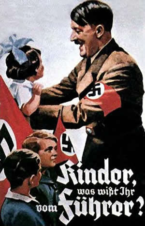A poster for the Hitler Youth