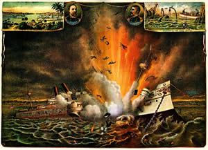 Cuba - The sinking of the USS Maine