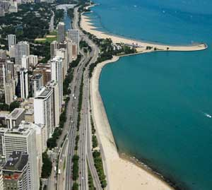 Lakeshore Drive in Chicago