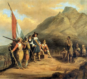 The Arrival of the Boers (painting)