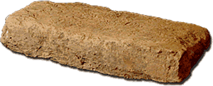 Brick from the Indus River Valley.