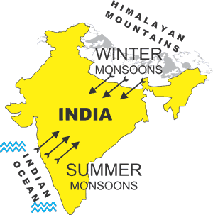 Monsoons (map)