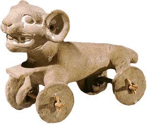Pre-colombian toy