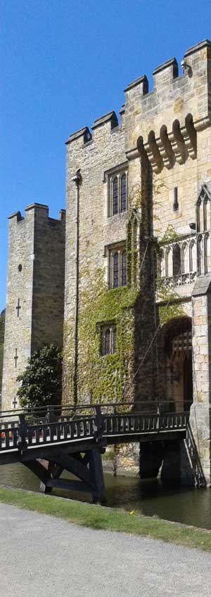 Drawbridge over Hever Castle