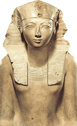 Egyptian pharaoh Hatshepsut