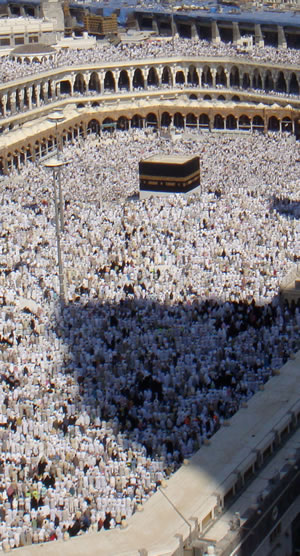 The Kaaba is Islam's most holy site.