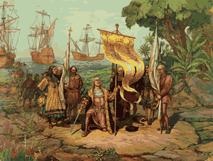 Columbus discovers America (painting)