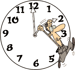 Daylight Saving Time (clipart)