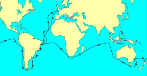 Route of the HMS Beagle