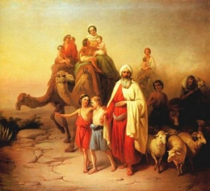 Abraham Moving Out (painting)