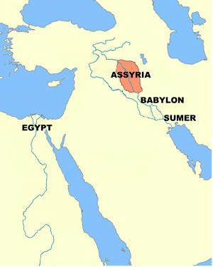 Assyria (map)