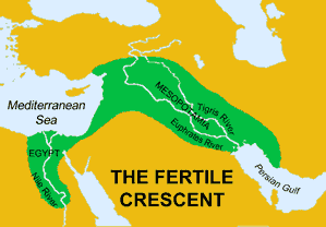 The Fertile Crescent (map)