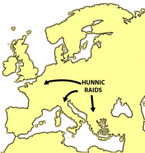 Hun Raids
