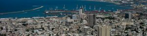 Haifa is Israel's third largest city.
