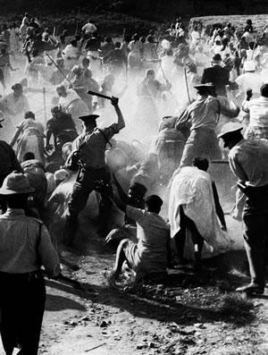Apartheid violence
