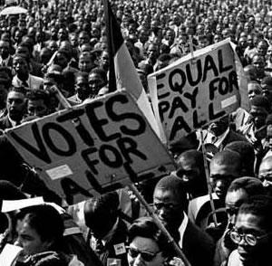 Protest against Apartheid