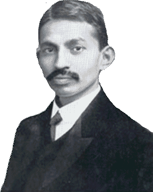 Gandhi as a young lawyer