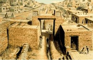 The ruins of Harappa