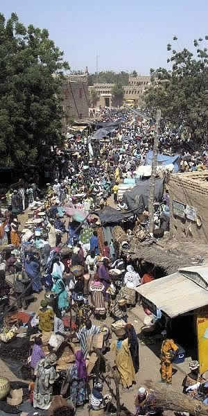 Crowd in India