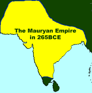 Maurya Empire (map)