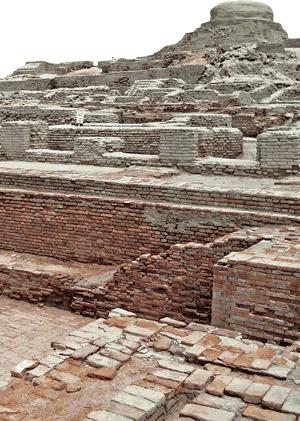 Mohenjor Daro ruins