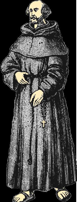 A Christian friar