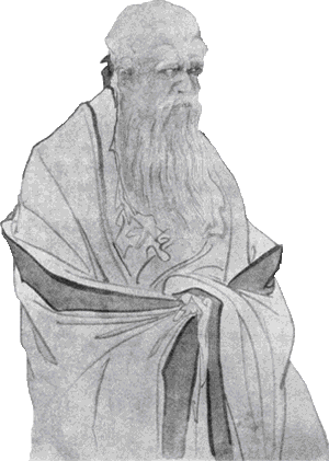 Lao Tzu, the legendary founder of Taoism