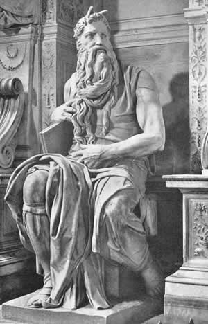 Moses by Michelangelo Buonarroti