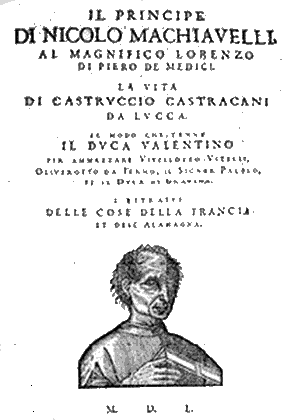 The Prince by Machiavelli (title page)