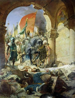 Turks Entering Constantinople (painting)