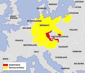 Sudetenland (map)