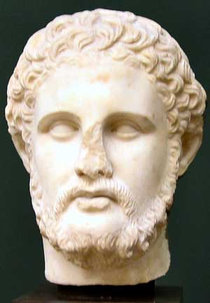 King Philip of Macedonia (bust)