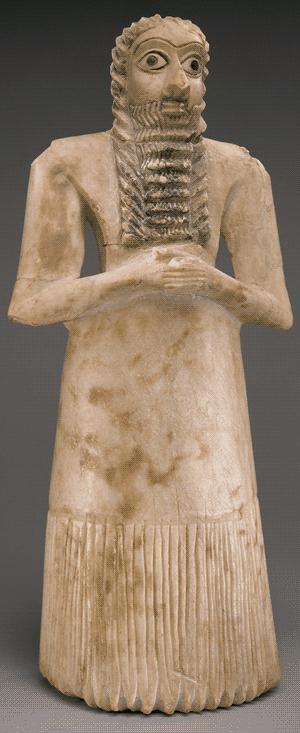 Sumerian figurine