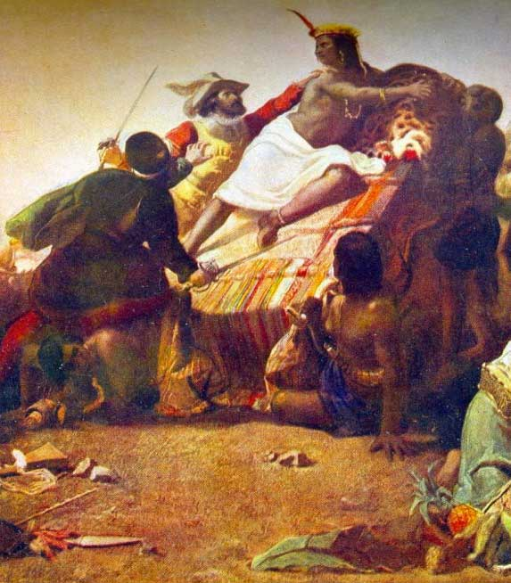 The Capture of Atahualpa